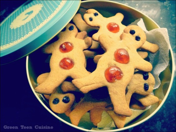 """gingerbread men"""